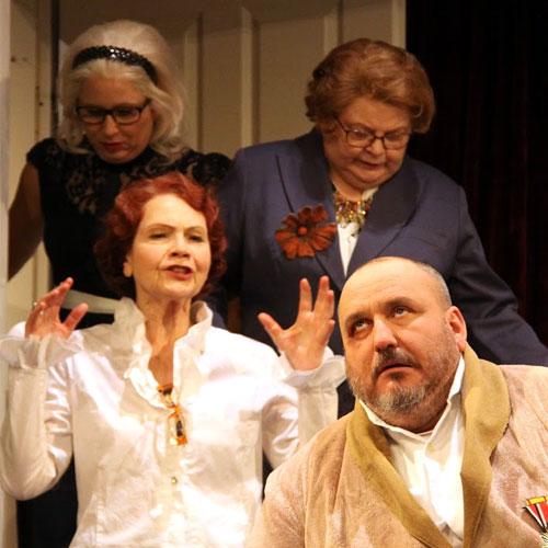 Bilder vom Perkeo Volktheaterstück